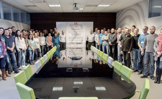 Lean Silver Certification for Eltek Slovakia