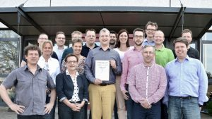 Lean Silver Certification for Givaudan Dortmund