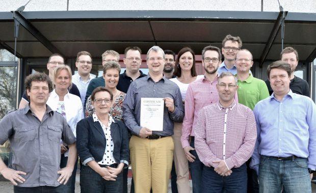 Lean Silver Certification for Givaudan Dortmund