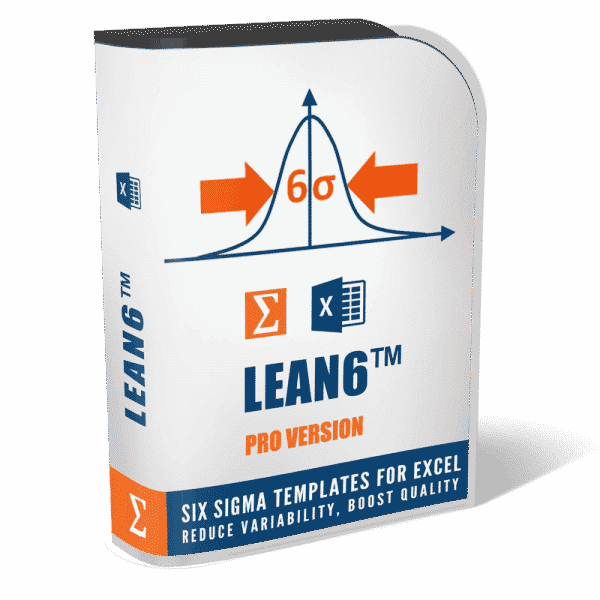 LEAN6 Six Sigma Toolkit Pro