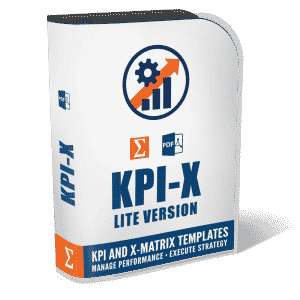 KPI-X lite toolkit metrics templates for performance management