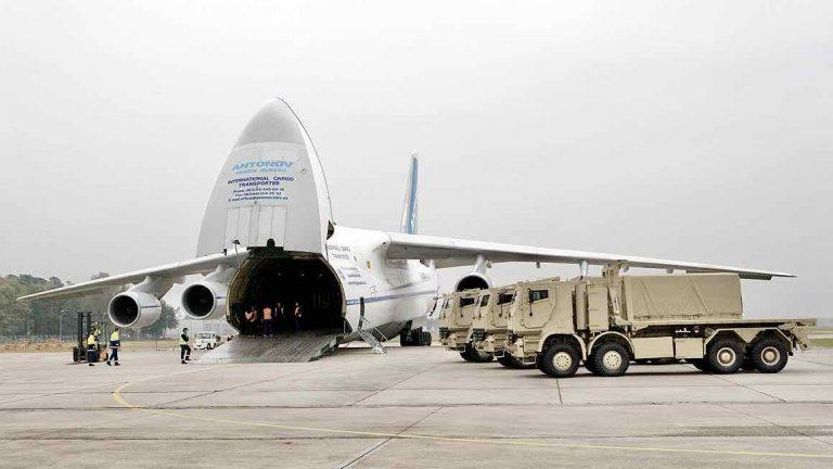 Antonov Truck Loading Operation