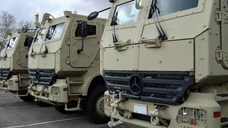 Armored Vehicles ready for Deployment
