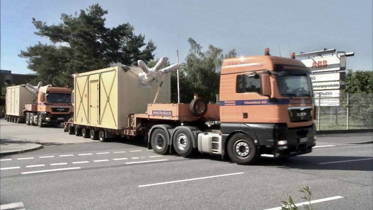 Trucking Equipment from Factory to Port