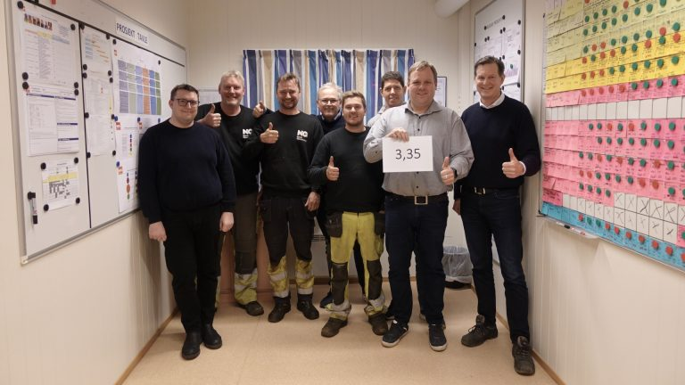 Internal Lean Benchmark Team Øra