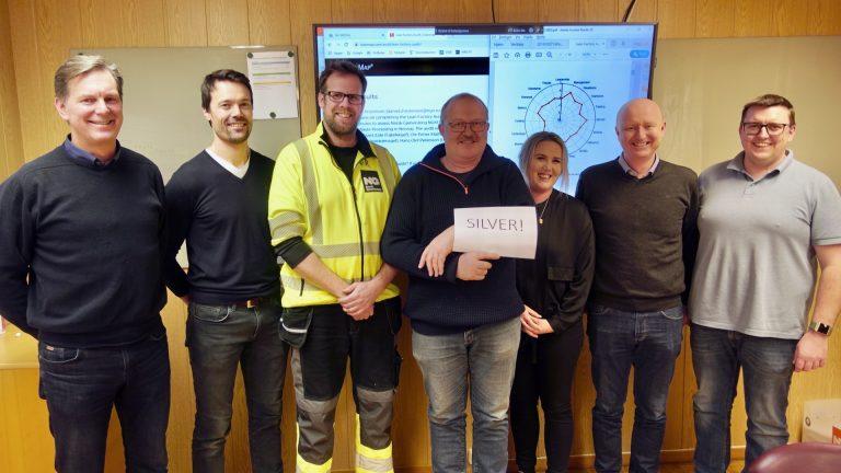 Lean Team Drammen Attained Silver