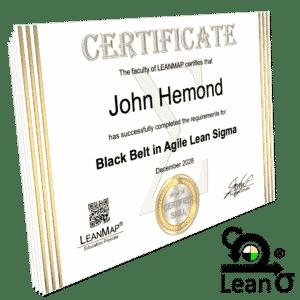 Agile Lean Six Sigma Certificate