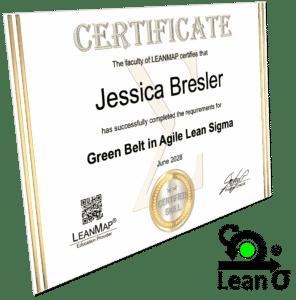 Agile Lean Six Sigma Green Belt Certificate