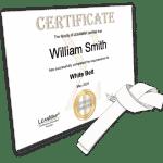 White Belt Certificate