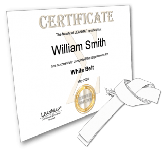 White Belt Certificate