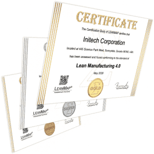 Lean Corporation Certification