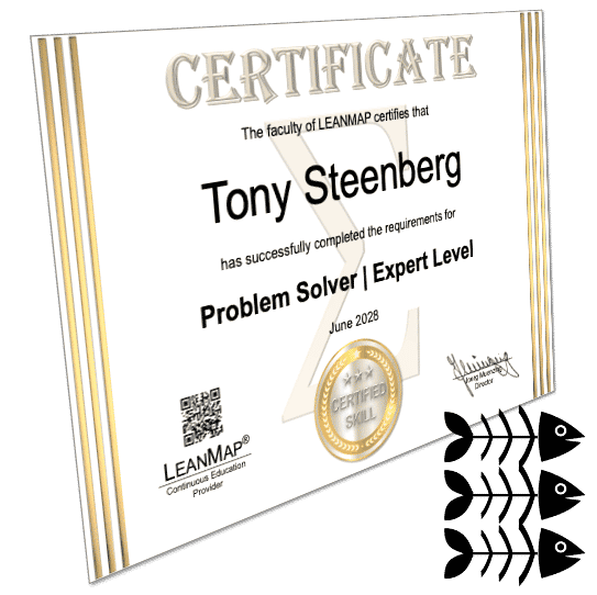 Problem-Solving Certificate 3 Expert