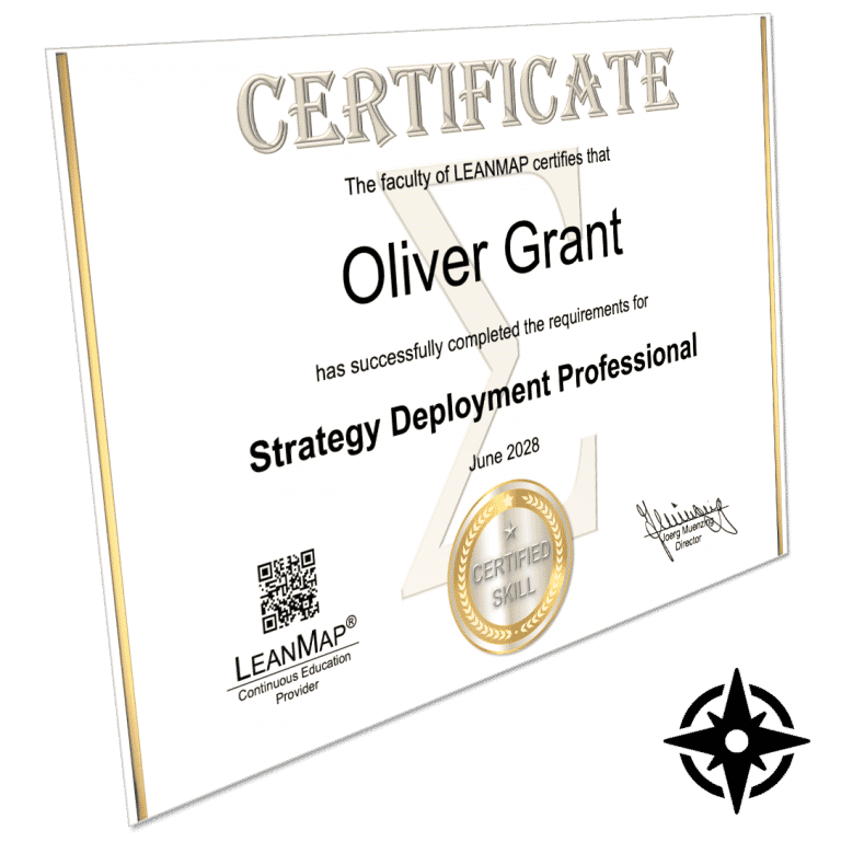 Strategy Deployment Certificate