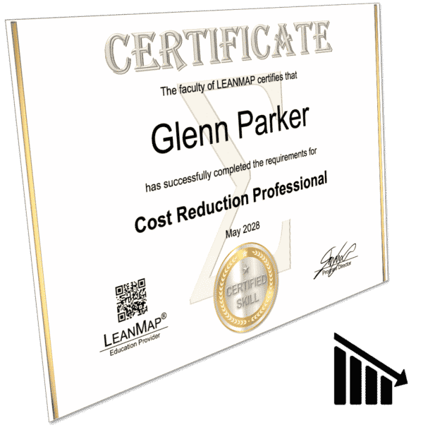 Cost Reduction Certificate