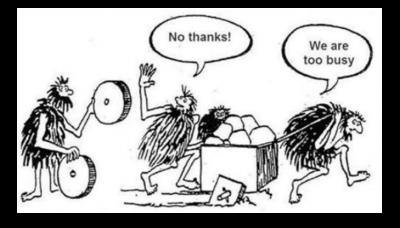 Ineffective Problem Solving