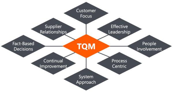 TQM Model 8 Principles